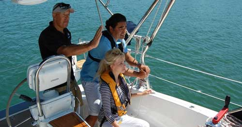 Learn how to sail vacations